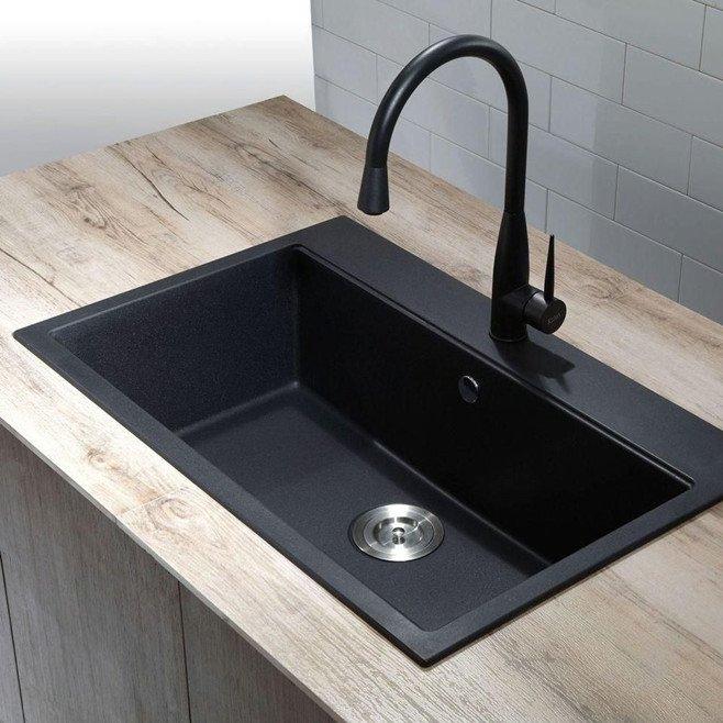 granite composite sink background
