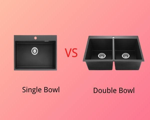 Single Bowl Sink Vs Double Bowl Sink