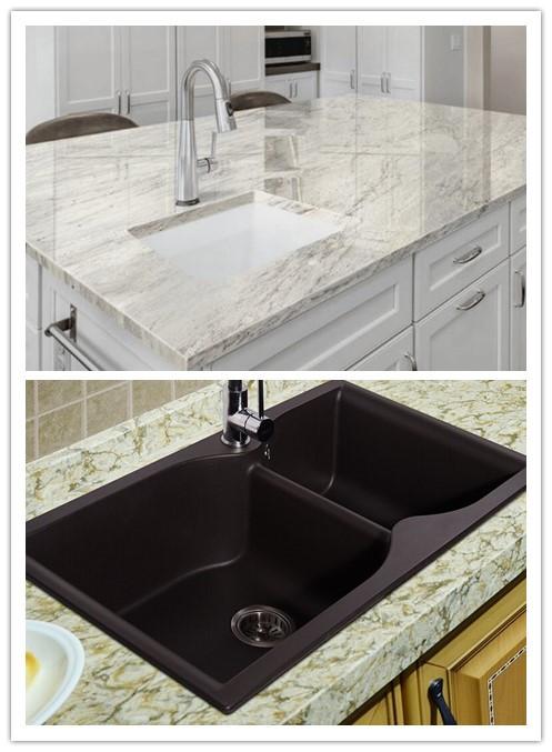 The difference between quartz countertop and quartz sink